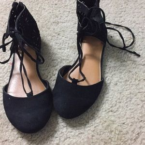 Cute Cat &Jack flats worn